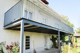 stahlbau balkone balkone huber stahl und metallbau erlinsbach