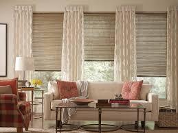 window treatments valance over blinds light brown rattan window