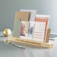 personalised desk organiser by sophia victoria joy