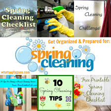 springcleaning spring cleaning checklists and printables