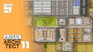 parole u0026 door servo woes prison architect ep11 1080p 60fps