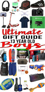 gifts for 13 year boy this year