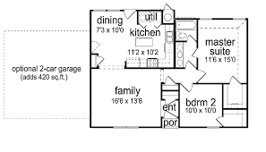 2 bedroom ranch floor plans 2 bedroom house plans home plans