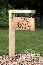 light post with address sign outdoor address sign custom yard sign custom home sign custom