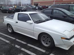 mitsubishi starion crawling from the wreckage 1988 mitsubishi starion and the