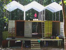shipping container homes survives category 5 cyclone inhabitat