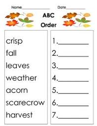 halloween abc order abc order sheets pinterest halloween and