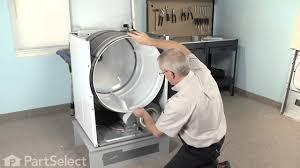 dryer repair replacing the multi rib belt whirlpool part