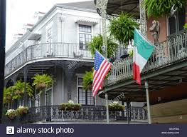 Nola Flags Flags French Quarter New Orleans Stock Photos U0026 Flags French