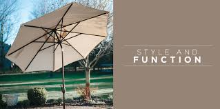 Offset Patio Umbrella With Mosquito Net by Abba Patio Your Backyard Destination