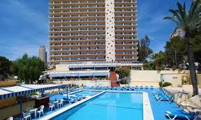 poseidon playa hotel benidorm costa blanca on the beach