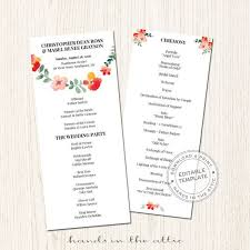 Download Wedding Program Template 54 Best Wedding Program Images On Pinterest Wedding Program