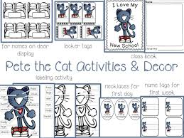 Pete The Cat Classroom Decorations 73 Cool Pete The Cat Freebies And Teaching Resources