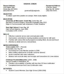time resume exles resume part time best resume collection