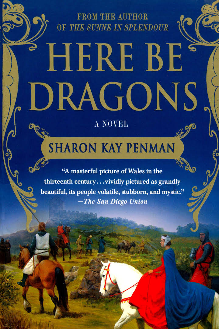 Bilderesultat for here be dragons welsh princes trilogy