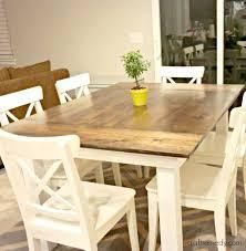 white farmhouse table black chairs white farmhouse table the simple white farmhouse table white