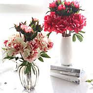 Faux Peonies Cheap Artificial Flowers Online Artificial Flowers For 2017