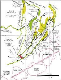 Idaho Montana Map by Southwest Montana U2014 East Central Idaho Middle Miocene Graben
