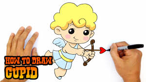 how to draw a cupid drawing lesson youtube