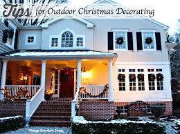 christmas decorating inside and out vintage american home