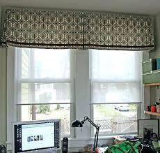 large kitchen window treatment ideas kitchen kitchen valance ideas large kitchen window treatments
