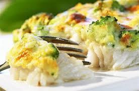 cuisiner poisson blanc gratin de poisson aux brocolis