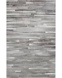 bargains on bashian rugs cowhide rug grey 8 u0027 x 10 u0027