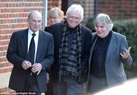 reg funeral is all around for the troggs frontman as