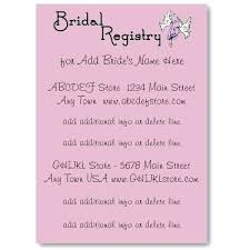honeymoon bridal registry wording for registry on wedding invitation yourweek ba3858eca25e