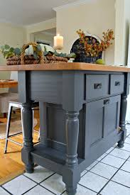 easy kitchen island a super easy kitchen island makeover using benjamin moore wrought
