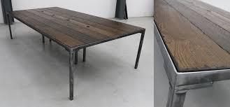 Modern Industrial Desk Industrial Desk Fabulous Watts Reclaimed Wood And Metal