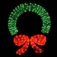Lighted Outdoor Christmas Displays by 48