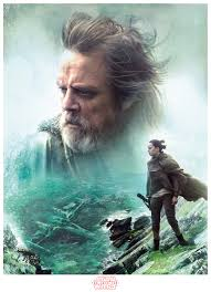 rey appears to be retrieving something from the water in the new