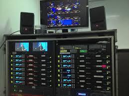 Audio Visual Rack Aja Ki Pro Rack On Tour With The Cure Audiovisual Panorama
