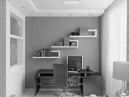 fascinating white and grey themes small home office ideas added