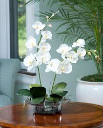 faux orchids enhance your room decor with phalaenopsis silk orchid arrangement