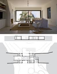 desert home plans underground modern home arizona residence by deca at dornob
