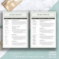 Business Resume Template Word 2 Page Resume Template Resume For Your Job Application