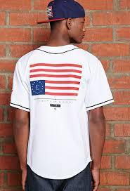 Cool Rebel Flags Lyst Forever 21 Civil Home Team Rebel Flag Baseball Jersey In