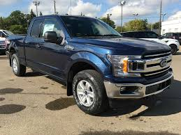 ford truck blue new 2018 ford f 150 4 door pickup in edmonton ab 18lt8959