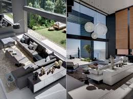 contemporary interior home design stunning interior and exterior modern home design homescorner