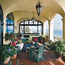 Mediterranean Style Kitchens - outdoor kitchen decorating ideas coastal living