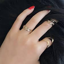 v shaped diamond ring ebay women fashion jewelry adjustable vintage letter v shaped
