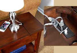 the device charging end table u2026 the luxonomist lujo economía
