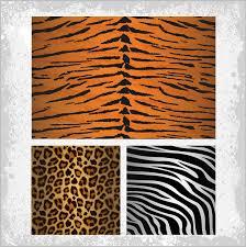 zebra pattern free download tiger zebra leopards skin pattern free vector in adobe illustrator