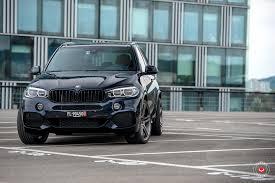 Bmw X5 Black - carbon black metallic bmw x5 with vossen vps 302 forged wheels