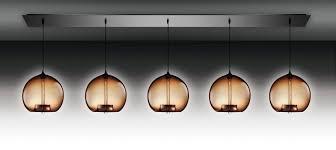 Glass Blown Pendant Lights Contemporary Ceiling Light Linear Glass Blown Lamp Modern