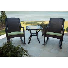hanover orleans5pcrkr orleans brown 5 piece porch set 2 chairs w