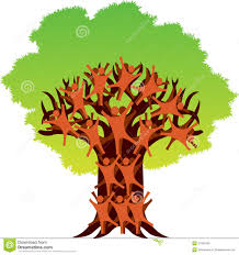 human tree logo stock photography image 31900492