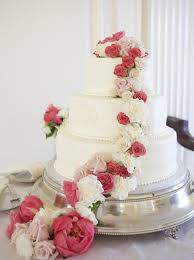 wedding cakes with fresh flowers simple natural elegant u2014 j
